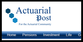 Actuarial Post, Pensions, Investment, Life