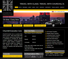 Churchill Executive Cars, Car Hire