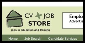 CV and JobStore.com for education and training