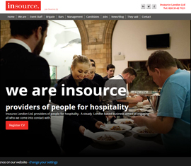 Insource London, Hospitality Recruitment