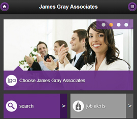 Mobile Recruitment Website, JGA Recruitment