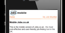 Jobs.co.uk Mobile Jobs Board