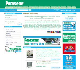 Parasene garden products