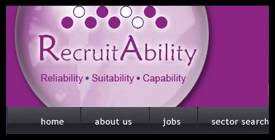 Recruit-Ability.co.uk, admin, accounts, sales jobs