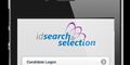 ID Search and Selection Mobile Recruitment Website