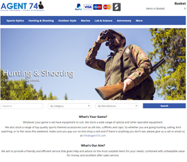 Agent 74 Outdoor Sporting & Optical Equipment