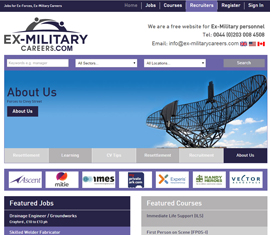 Ex-Military Careers, Jobs Board for Ex-Military