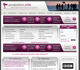 Production Elite - TV Freelancers