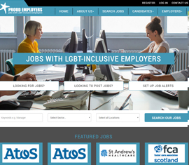 Responsive Jobs Board for Proud Employers
