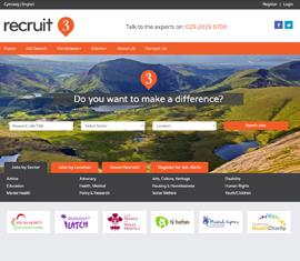 recruit3 Voluntary Charity Recruitment Jobsboard