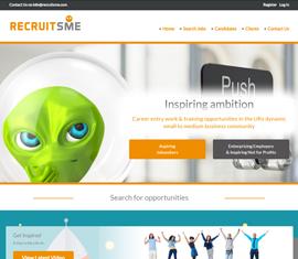 Responsive Jobs Board for RecruitSME